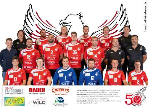 Mannschftsfoto Herren 1 Saison 2020/21
